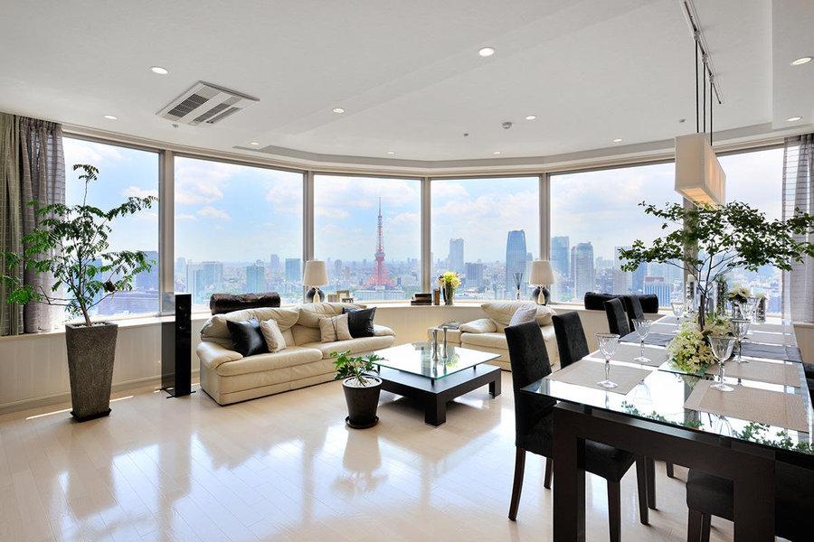 窓を最大限に生かして外の景色を取り入れつつ、ホテルライクな高級感が欲しい。