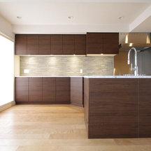 風通しの良い広いリビングと明るいキッチンに。