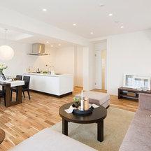 パティオを囲む住戸配置が魅力的なマンションのリノベーション